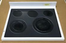 Maytag Range Glass Cooktop 74008550 WHITE MER5775QAW 19870566GN