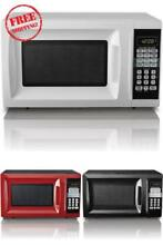 Microwave 0 7 cu ft Microwave Oven Hamilton Beach Countertop Kitchen Dorm Office