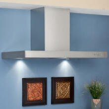 36  Villa Series Stainless Steel Wall Mount Range Hood with 502 CFM Fan