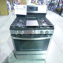 GE 5 0CF Gas Range 30  Convection Stainless Steel JGB700SEJSS JGB700SEJ4SS