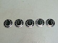 Set  5  Vintage GE Electric Range Knobs From Switch 6640G0025A 320949 FREE SHIP