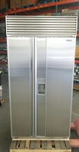 SUB ZERO 680 42  STAINLESS STEEL WATER ICE DISP REFRIGERATOR  50 OFF  9 995 MSRP