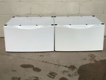 Whirlpool WHP1500SQ0 WHP1500SQ1 27x27x15 Laundry Pedestal with Storage Drawer