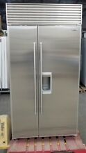 SUB ZERO 42  685 ICE WATER REFRIGERATOR PERFECT STAINLESS   43  OFF  10 995 MSRP