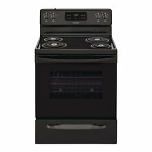 Frigidaire Electric Range  Black  30