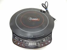 NuWave 2 Precision Induction Cooktop Electric Portable Model 30151 TESTED