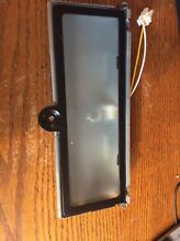 MAYTAG MICROWAVE PARTS      Light Assembly With Glass Model  MMV5207BAS
