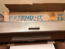 1960 New Old Stock Jensen Range Hood EXTEND IT RECESSED 36  Coppertone Chrome