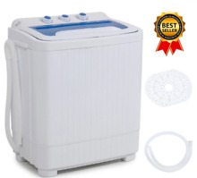 Compact Washer And Dryer All In One Combo Portable Machine RV Apartment Size Top