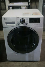 LG DLEC888W 24  Compact Dryer Ventless Electric White 4 2 Cu Ft Front Load