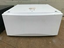 GE Pedestal SBSD137H5WW and SBSD227FWW 13  Laundry Pedestal with Storage Drawer