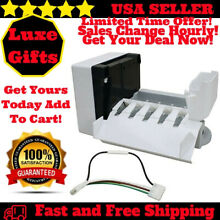 Refrigerator Ice Maker Kit 5 Cube Fridge Whirlpool Kenmore Maytag Part W10190961