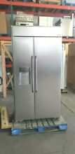 DACOR 42  STAINLESS REFRIGERATOR DYF42BSIWS 07 16  MODEL   55  OFF  11 000 LIST