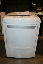 LG DLE1501W 7 3CF Dryer Front Load 8 Cycle White