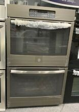 GE JT3500EJES 30 Inch Electric Double Wall Oven in Slate