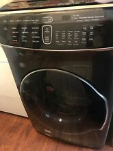 Samsung WV60M9900A 5 5 Cu Ft  Washer with Steam Black Stainless Steel