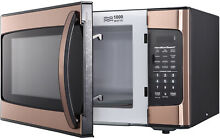 Hamilton Beach Copper 1 1 Cu Ft Microwave Oven Home Kitchen Timer Clock Cooking