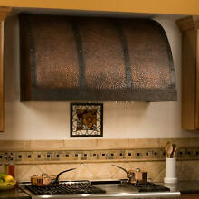 48  L x 18  H Chaucer Series Copper Wall Mount Range Hood Hood Only