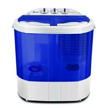 Mini 10 4lbs Washing Machine Dryer Combo Portable Laundry Washer Dryer Apartment