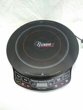 NuWave 2 Precision Induction Cooktop 30151 Electric Black Cooking Hot Plate
