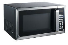 Stainless Steel Countertop Microwave Oven Dorm College Apartment 900W LED Home