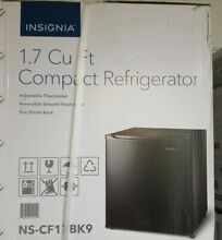 Insignia  1 7 Cu  Ft  Mini Fridge   Black
