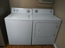 WHIRLPOOL ESTATE WASHER N DRYER MATCHED SET PERFECT CONDITION