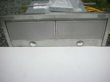 Miele 30  Undercabinet Slide Out 4 Speed Vent Hood DA3480 in Stainless Preowned