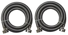 Stainless Steel Washing Machine 5  Set Inlet Fill Hoses with Washers