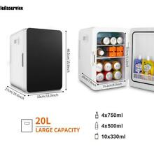 2 5 CuFt Retro LED white Mini  small Refrigerator Fridge Compact Home Office