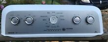 Maytag Bravos Washer Faceplate Only For Control Panel W10513410