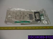 Genuine Sharp Microwave Touchpad White P N FUNTKB390MRE0