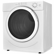27 lbs 3 21 Cu  Ft  Electric Tumble Compact Cloths Dryer