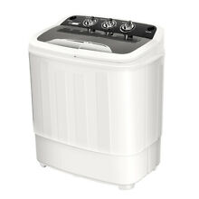 2 In 1 Portable Electric  Mini Laundry Washer  Dryer Combo Washing Machine