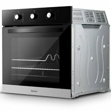 24  Electric Built in Single Wall Oven 220V Buttons Control