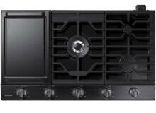New In Box  Samsung NA30N6555TG 30  Black Stainless 5 Burner Gas Cooktop