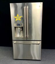 GE Cafe French Door Refrigerator with Keurig K Cup Brewing System CYE22USHSS