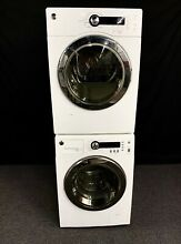 GE Stackable Washer Electric Dryer Set   NO CREDIT CHECK FINANCING AVAILABLE