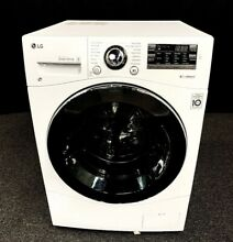 LG 2 3 cu  ft  Compact All In One Washer Dryer WM3488HW