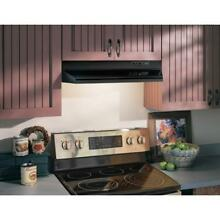Broan Range Hood 36 in  Under Cabinet Removable Grease Filter Lighted Black