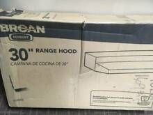 Broan 30  Black Range Hood Model 413023