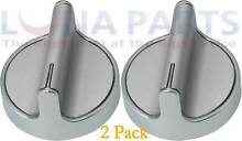 2 Pack W10594481 W10698166 Knob for Whirlpool Stove Range AP5949868 PS11756643