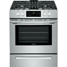 Brand New Frigidaire 30  5 cu  ft  Front Control Gas Range   Stainless Steel Blk