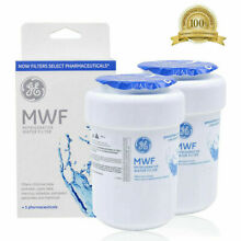 2 Pack GE MWF MWFP GWF 46 9991 General Electric Smartwater Water Filter OEM