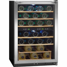Frigidaire 38 Bottle Dual Zone Wine Cooler  Stainless Steel NEW