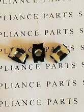 WB01X10071 MICROWAVE OVEN CASE TOP MOUNTING NUT SET OF 3 FROM NEW MICROWAVE OVEN