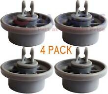 4 Pack For Thermador Dishwasher Lower Dishrack Wheel Roller   PR8242082PATD640