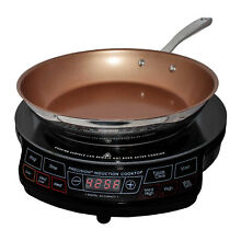 NuWave Precision Induction Cooktop with Induction Ready Pan Included