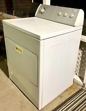 Whirlpool LGR8648LW0 Front Load Dryer   White