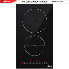 12  Built in Induction Cooker  2 Burners Electric Cooktop  Touch Control  Timer